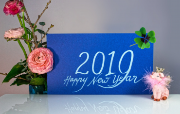 Happy New Year 2019. Three Positive Habits for 2019