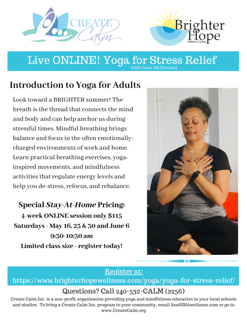 Yoga for Stress Relief: Introduction to Yoga for Adults